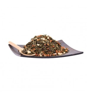 Ceai verde cu catina