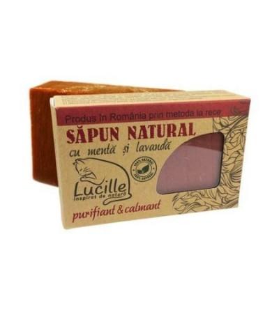 Sapun natural cu Menta si Lavanda, Lucille