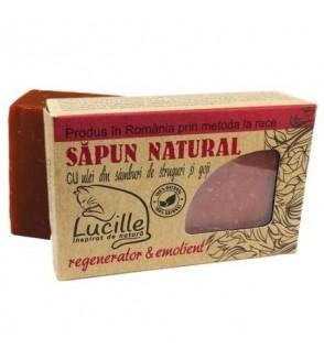 Sapun natural cu ulei samburi de struguri si Goji, Lucille