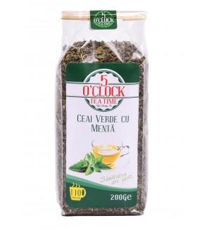 Ceai Verde cu Menta (200 g)