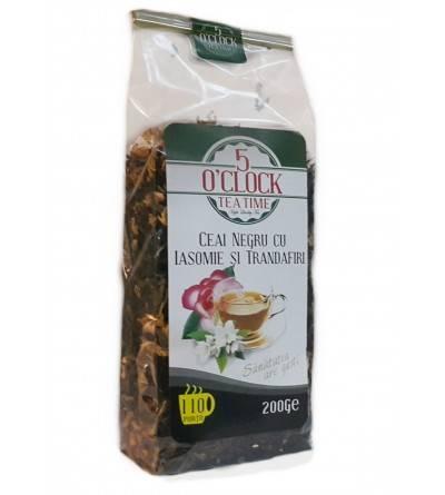 Ceai negru cu Iasomie si Trandafir (200 g)