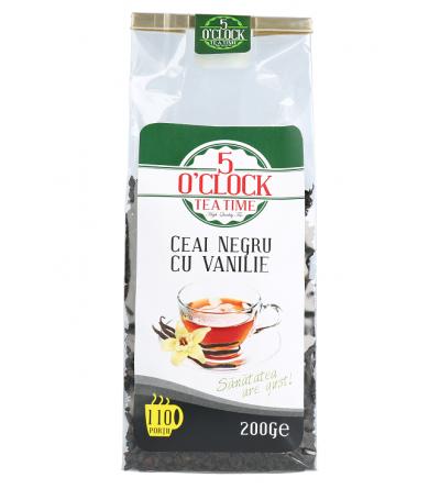 Ceai Negru cu Vanilie (200 g)