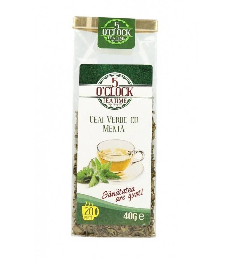 Ceai verde cu menta (40 g)