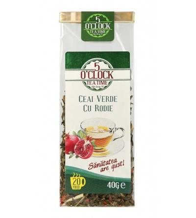 Ceai verde cu rodie (40 g)