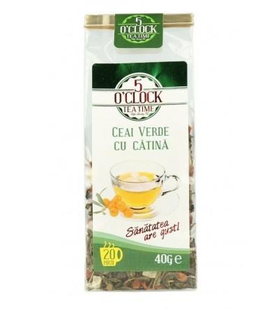 Ceai Verde cu Catina (40 g)