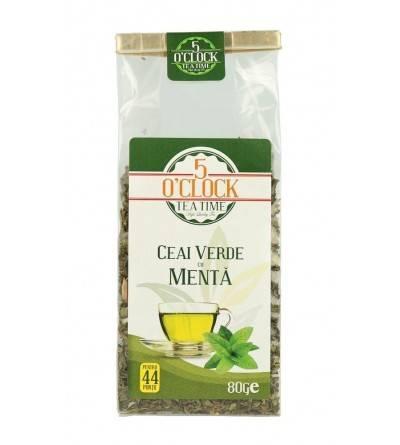 Ceai verde cu menta (80 g)