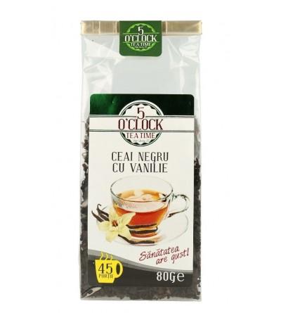 Ceai Negru cu Vanilie (80 g)