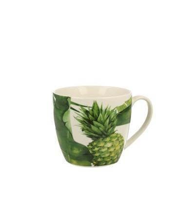 Cana portelan in cutie cadou, 0.48 l, Pineapple