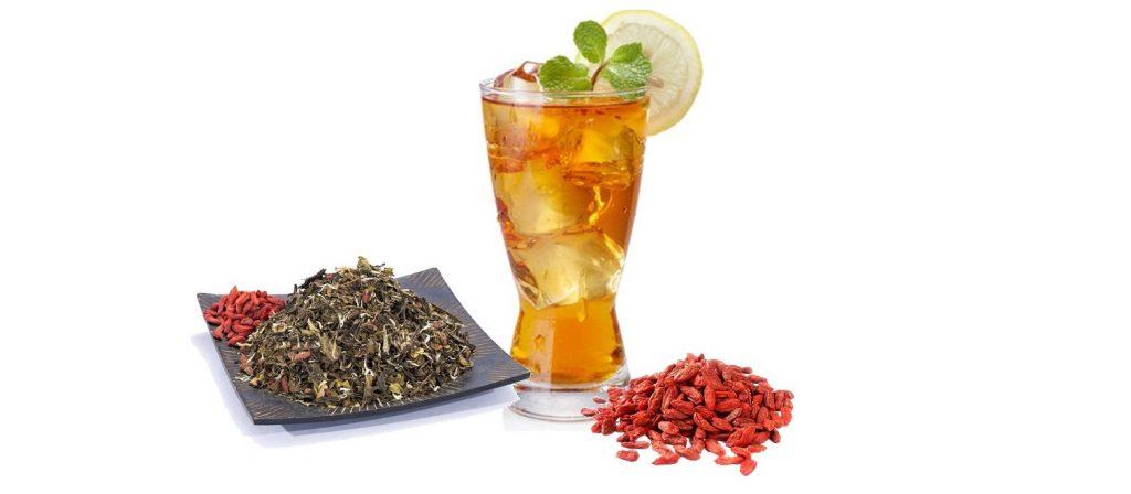 Ice Tea din ceai alb cu Goji